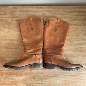 Sam Edelman Leather Tall Penny Boot 8